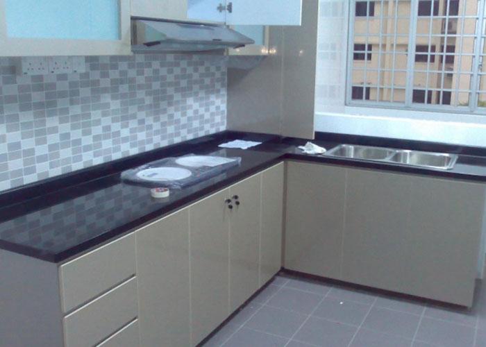 Interiors For Kitchen kitchen interiors - vishnu interiors, bangalore, india